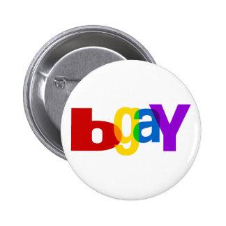 bGay 2 Inch Round Button