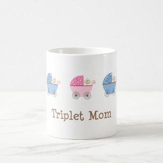 BGB Baby Carriage Triplet Mom Mug