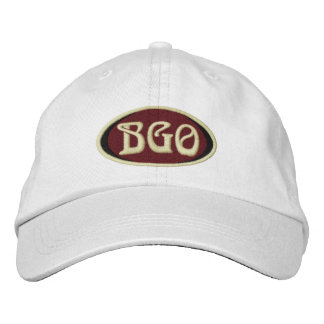 BGO Adjustable Ball Cap Embroidered Baseball Cap