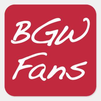 BGWFans Stickers