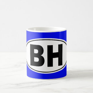 BH Beverly Hills California Coffee Mug