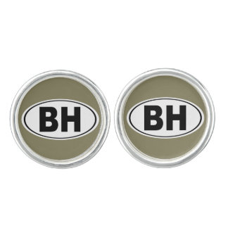 BH Beverly Hills California Cufflinks