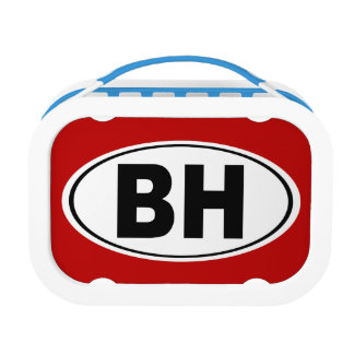 BH Beverly Hills California Lunch Box