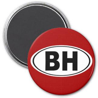 BH Beverly Hills California Magnet