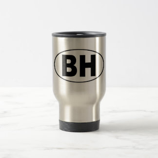 BH Beverly Hills California Travel Mug
