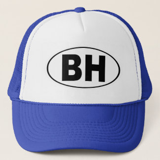 BH Beverly Hills California Trucker Hat
