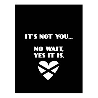 BH It s Not You No Wait Yes it Is Post Card