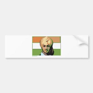 Bhagat Singh A Revolutionary Hero Bumper Sticker