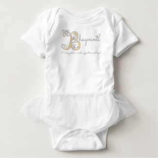 Bhagvanti baby girls name meaning monogram hearts baby bodysuit