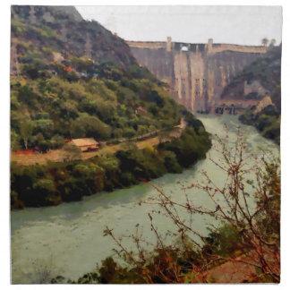 Bhakra Nangal Dam Napkin