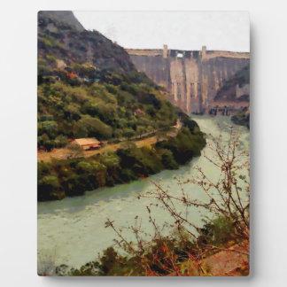 Bhakra Nangal Dam Plaque