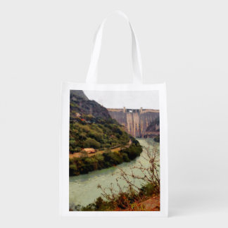 Bhakra Nangal Dam Reusable Grocery Bag