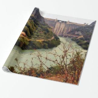 Bhakra Nangal Dam Wrapping Paper