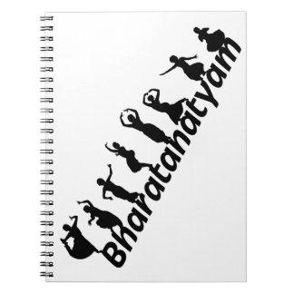 Bharatanatyam Notebook