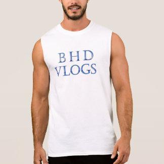 BHD Vlogs Sleeveless tee