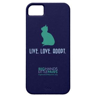 BHLP Live.Love.Adopt. Cat iPhone 5/5S Case