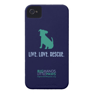 BHLP Live.Love.Rescue. Dog iPhone 4/4S Case
