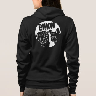 BHNW's 2013 English & French Bulldog design Hoodie