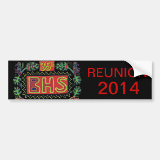 BHS Reunion Bumper Sticker