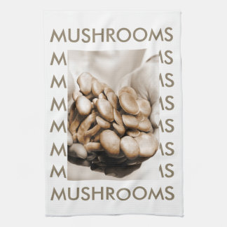 Bhuna Mushrooms Kitchen Towel