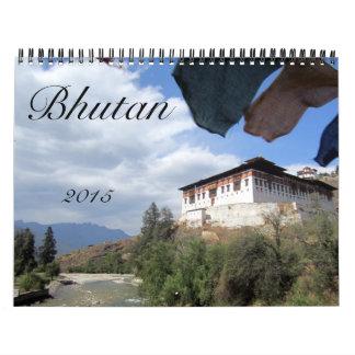 bhutan 2015 wall calendars