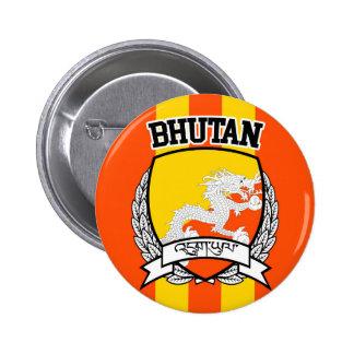 Bhutan 2 Inch Round Button