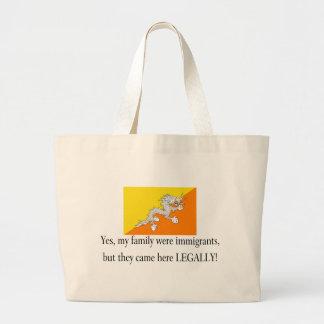 Bhutan Canvas Bags