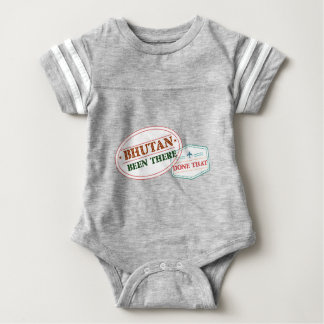 Bhutan Been There Done That Baby Bodysuit