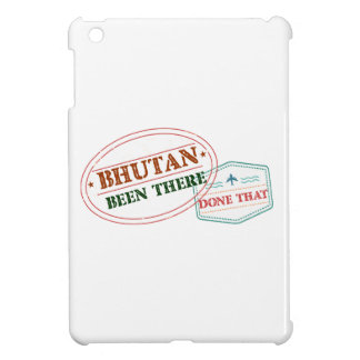 Bhutan Been There Done That iPad Mini Cases