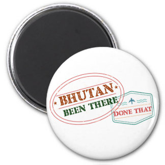 Bhutan Been There Done That Magnet