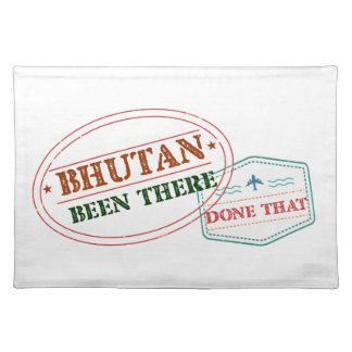 Bhutan Been There Done That Placemat