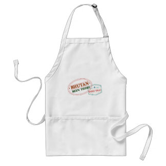 Bhutan Been There Done That Standard Apron