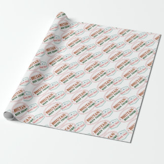 Bhutan Been There Done That Wrapping Paper