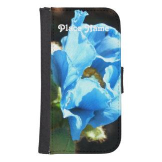 Bhutan Blue Poppy Phone Wallets
