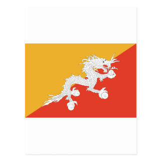 Bhutan dragon postcards