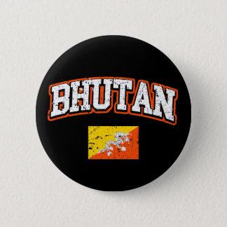Bhutan Flag 2 Inch Round Button