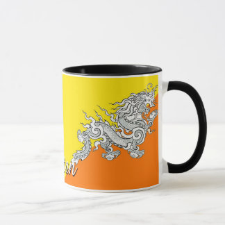 Bhutan Flag Coffee Mug