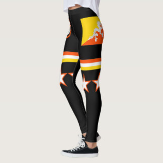 Bhutan Flag Leggings