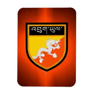 Bhutan Flag Magnet