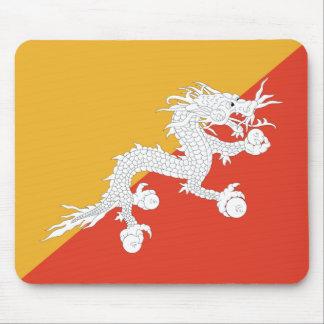 Bhutan Flag Mousepad