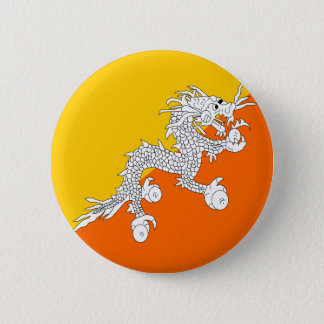 Bhutan High quality Flag 2 Inch Round Button
