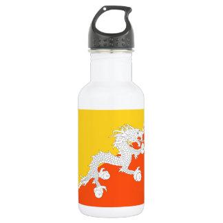Bhutan National World Flag 532 Ml Water Bottle