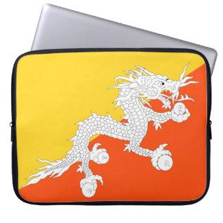 Bhutan National World Flag Laptop Sleeve