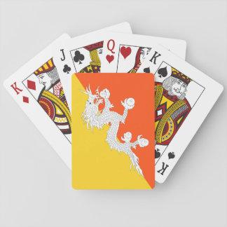 Bhutan National World Flag Playing Cards