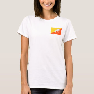 Bhutan National World Flag T-Shirt