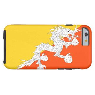 Bhutan National World Flag Tough iPhone 6 Case