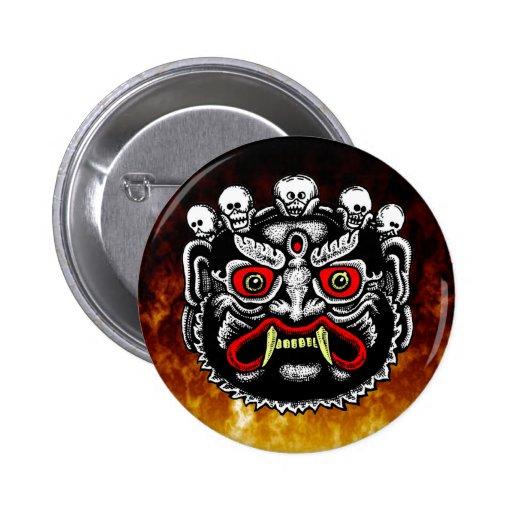 Bhutanese Demon Button
