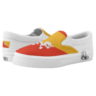 Bhutanese flag Slip-On sneakers