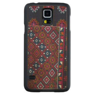 Bhutanese Rugs Carved Maple Galaxy S5 Case