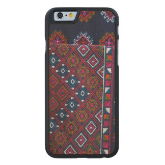 Bhutanese Rugs Carved Maple iPhone 6 Case